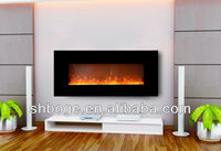 standard good quality home electric fireplace fireplace hanging no heat with crushed glass