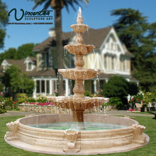 2018 New Home Decorative Big Large Yard Outdoor Garden Marble Water Fountain Sale Decoration Price Egypt