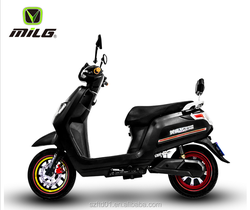 60 Volts Electric Pocket Bike - Black/Lithium Powered Eco-Friendly Electric Motorcycel