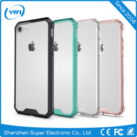 2016 Hottest Selling 2 in 1 Combo Colorful Tough Hybrid Mobile Phone Armor Case for Apple iPhone 7