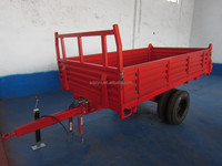 5 ton single axle 4 WHEEL HYDRAULIC TIPPING trailer