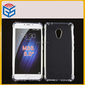 Hot Sold Full Transparent Gel TPU Cover Case For Meizu M3S / Meilan 3S / Meilan 3