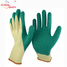 Custom 3/4 Coated Skin Color Latex Gloves