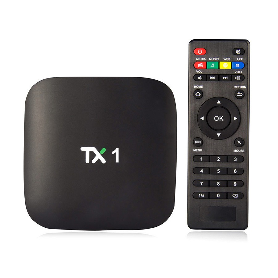 1 Chip Google Media Player OTT TX1 S805 1G 8G Quad Core Android 4.4 TV Box Kodi