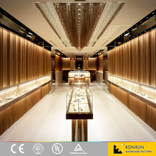Fashion antique customized jewellery shop furniture design for showroom and shop