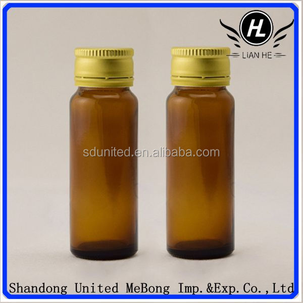 wholesale 30ml amber oral liquid glass bottle