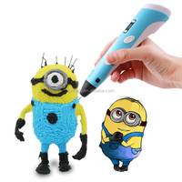 New 2 Generation Smart 3D Printer Pen Intelligent 3D Digital Printer Pen with 28 Colors Filament