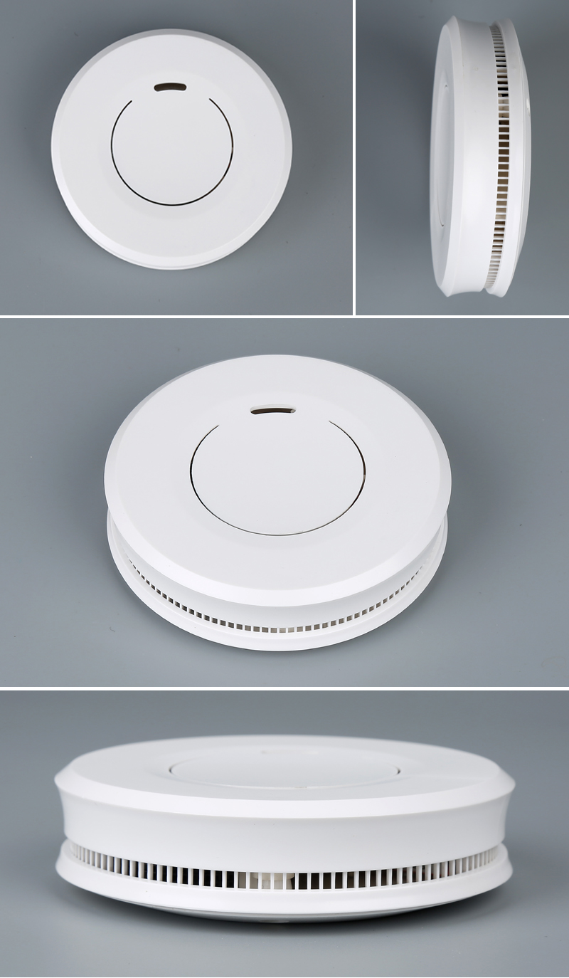 ABS Z-wave Decorative Portable Fire Alarm Smoke Detector with Depending EN