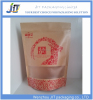 NEW Clear window Gravure surface zip lock plastic lined paper bags