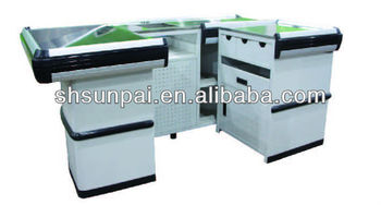 supermaket retail store counter stands