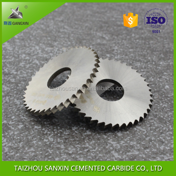 solid micro tungsten carbide milling cutter saw blade/wood planer blades for milling