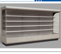 double air curtain multideck display showcase