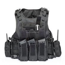 Military molle safty vest army plate carrier tactical bulletproof vest