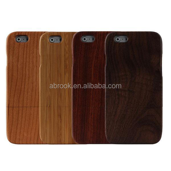OEM mobile phone wood phone case for iPhone 6s plus wooden case for Iphone 6s plus