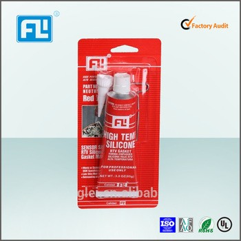 High temperature and oil resistant silicone super gasket maker sealant for OEM