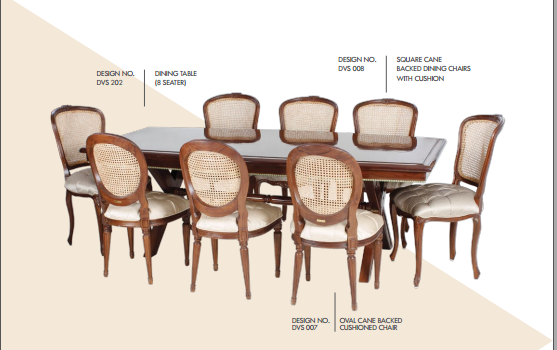 Dinning Table with 8 Seaters