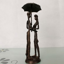 cast iron metal art sculpture for home decoration
