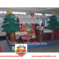 CE14960 promotional Christmas tree Inflatable bouncer for sale