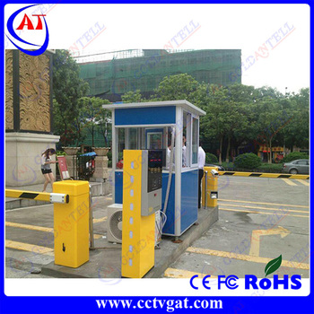 CE certificate 220/110v RS485 standard interface barrier for vehicle parking with access control system
