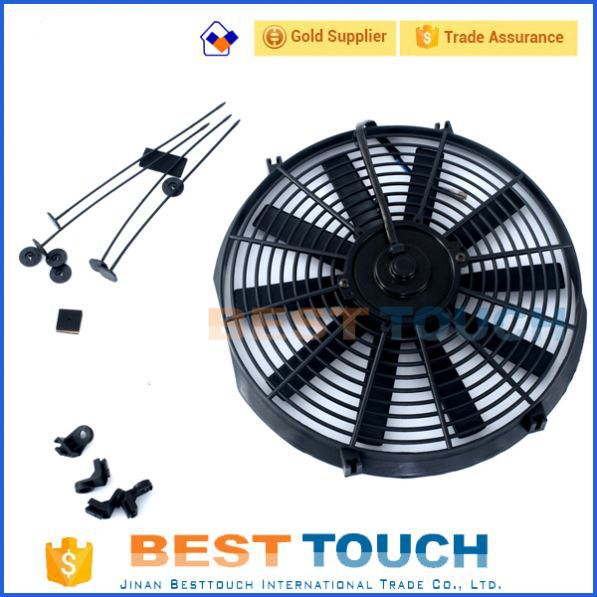 From <strong>11</strong>/1984 to 08/1999 condenser 14'' inch auto radiato fan for TOYOTA