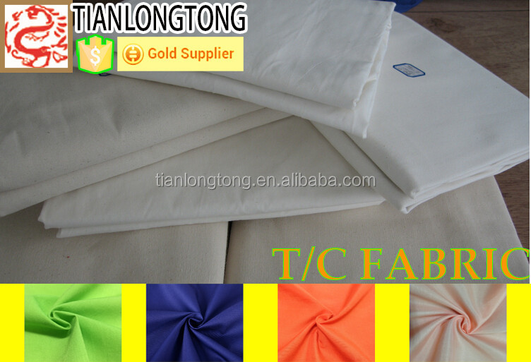 fabrics textile polyester cotton/<strong>poly</strong> cotton dyed fabric