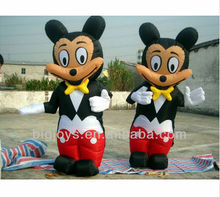 advertising inflatable cartoon character,cute mikey mouse inflatable cartoon