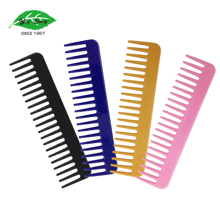 Fashion convenient mini plastic wide tooth comb
