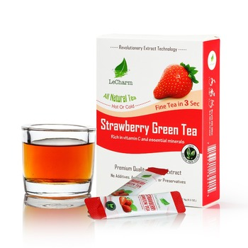 Best Fruit Strawberry Flavor Herbal Tea Chinese Ready-to drink Tea