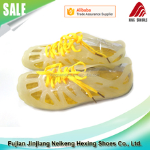 TPU Upper EVA and Rubber Sole Plastic Jelly Shoes Women