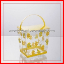 Transparent Soft Crease Handle Gift Packing Box