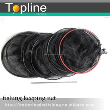 cheap carp fishing tackle keeping net keep nets with stick made in China