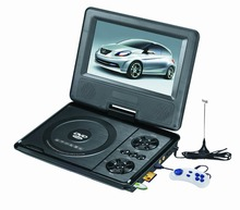 Good Price 7inch Portable TV With Battery 2 Hours Play DVD Player