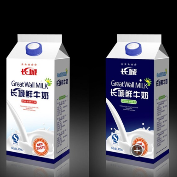 2016 aseptic package juice gable top carton mlik carton