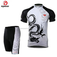 TOPWAY pro cycling team jersey set China custom manufacture