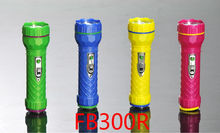 sword lion plastic led flash light battery powered made in China