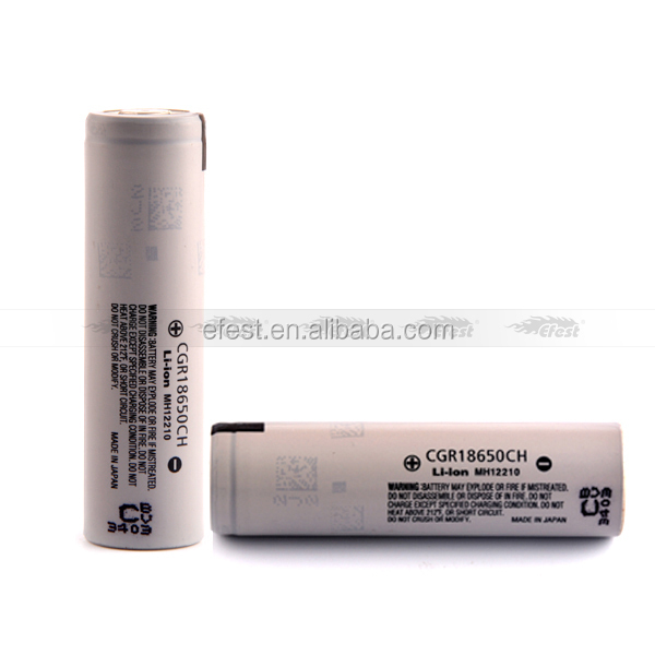 3.7V 2250mAh Li-ion Rechargeable CGR18650 2250mAh Battery with Good Performance