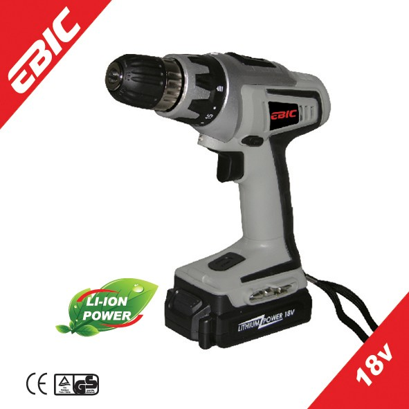 EBIC Power Max 18V Performer Cordless Drill battery