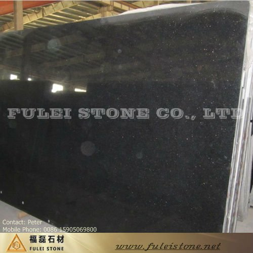 Natural Granite Slabs Black Star Galaxy