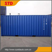 STD 20 feet new high cube shipping container for sale