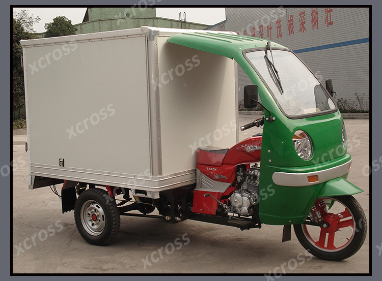 Chinese Cheap 150cc Tricycle Three Wheels Motorcycle 150cc 3 wheels motorcycles With Seal Cargo Box For Sale X-Tiger150