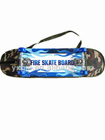31x 8 inch deck 50*36mm PU wheels with backpack skateboard street skateboards