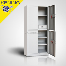 Metal Furniture 5 shelves cabinet with 2 middle drawers