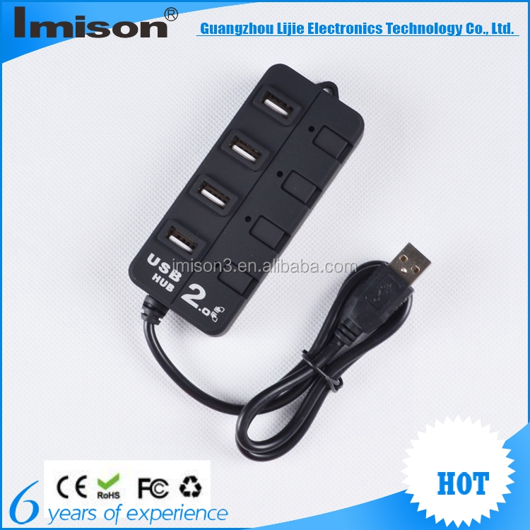 Hotsell 4 Port USB Hub Fine Hub 2016 New fashion