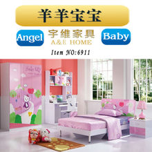 2015 Top Sales American country style kids bedroom set furniture
