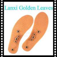 pvc massage magnetic insoles for shoes air cushion comfort insoles