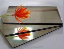 China Sinoy Mirror Supply High Quality 2-6mm Thickness Aluminum Mirror Sheet/Plate Price