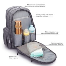 VKOOL Manufacturer Baby Diaper Mom Backpack With Insulated Pockets
