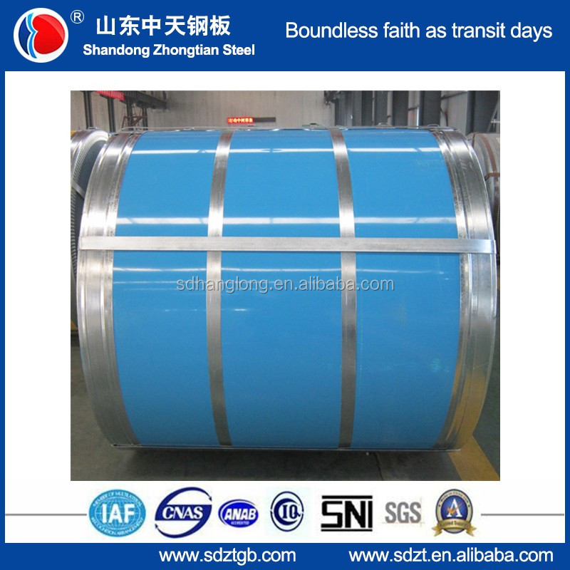 Cold rolled prepainted galvalume steel coil for roofing sheet