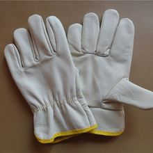 Heavy Duty Labor Protection Winter Work Leather Gloves