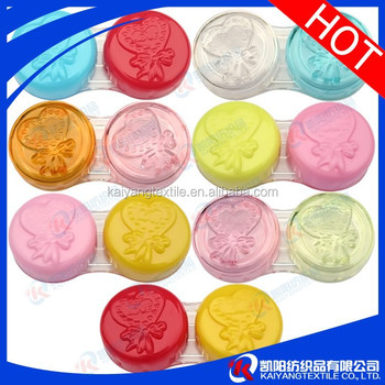 Colorful contact lens case whosesale